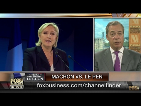 Nigel Farage: Macron VS Le Pen - UK General Election