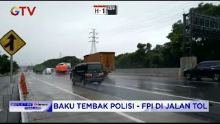 Baku Tembak Polisi vs Laskar FPI Terjadi di KM 50 Arah Cikampek - BIM 07/12