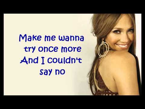 Jennifer Lopez - One Love - Lyrics