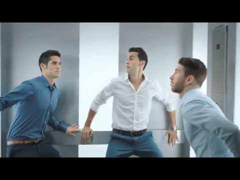 REAL MADRID C.F. players (isco,marcelo,Ramos) starring for NIVEA MEN PROTECT commercial Ad [HD]