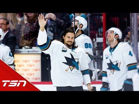 Erik Karlsson makes emotional return to Ottawa