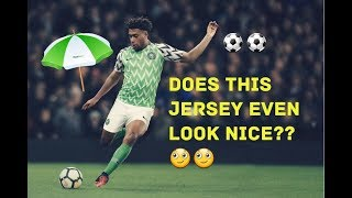 Super Eagles New Jersey Launch in London, YAY or NAY??
