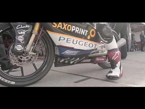 Peugeot Motocycles Saxoprint - Moto3 Team Presentation (2017)