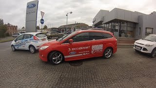 FORD Focus Park Assist TEST (Форд Фокус)