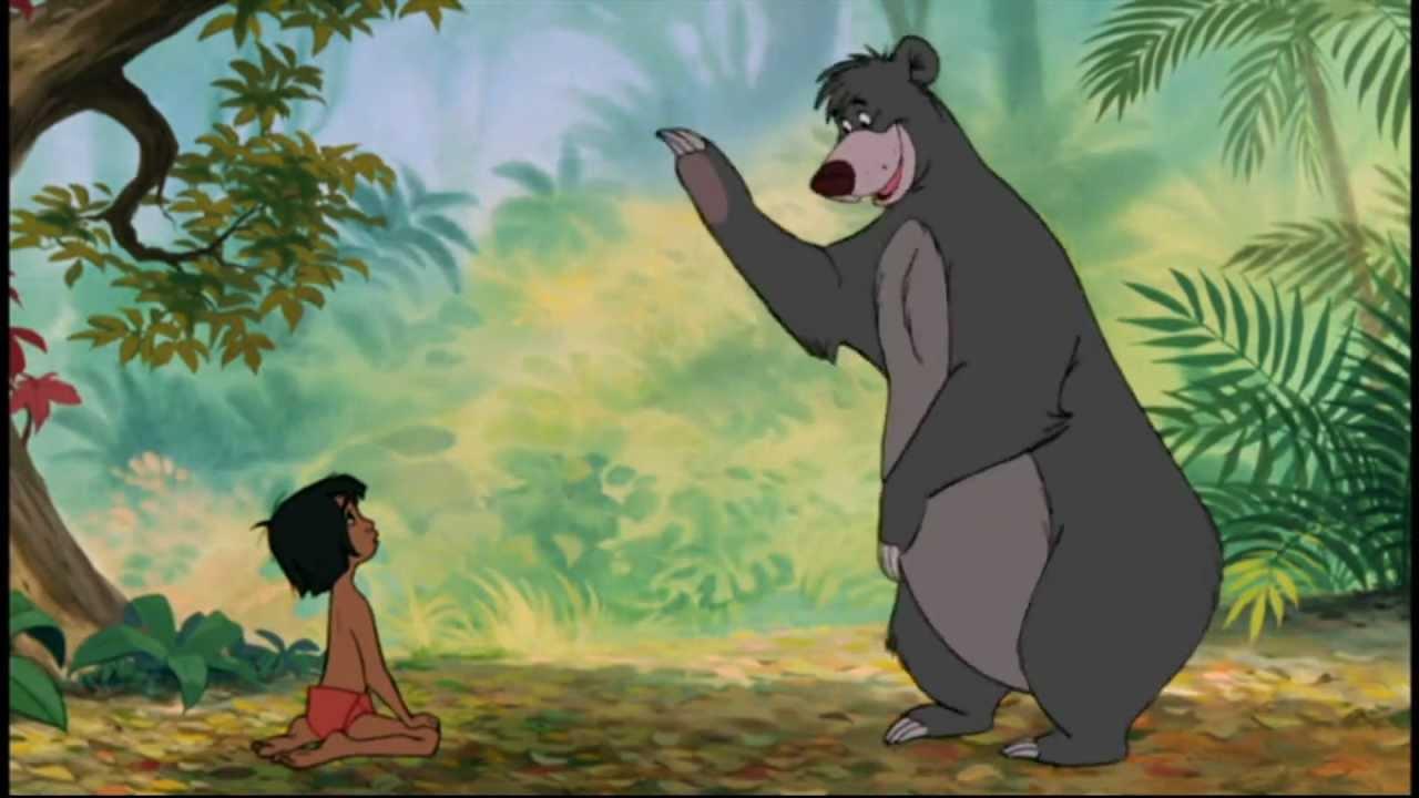 Il en faut peu pour être heureux - Le livre de la jungle
