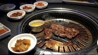 TRYING KOREAN BBQ FOR THE FIRST TIME