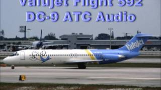 ValuJet Flight 592 McDonnell Douglas DC-9 Crash ATC FAA Audio File