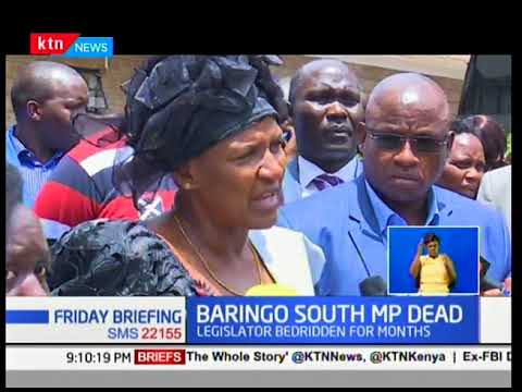 Kenyans and politicians mourn the passing of Baringo South MP Grace Kipchoim