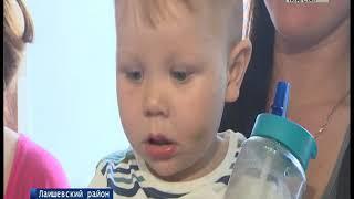 Жители села Столбище почти год страдают от ржавой воды
