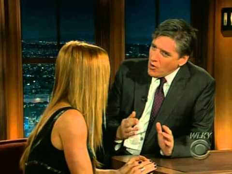 Late Late Show with Craig Ferguson 11/17/2008 Poppy Montgomery, Nick Hornby