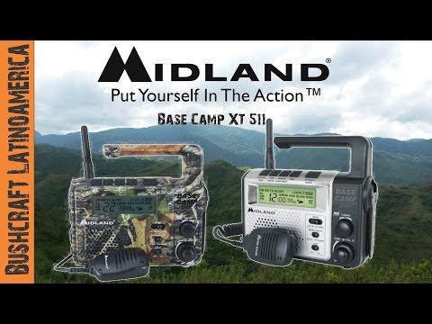 Radio midland Base Camp XT511 para emergencias