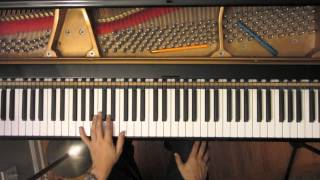 Jazz Piano Lesson #22:  Bill Evans ii-V-I line in 12 Keys