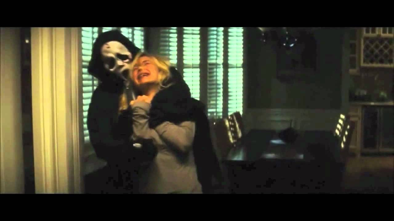 Scene of scary movie