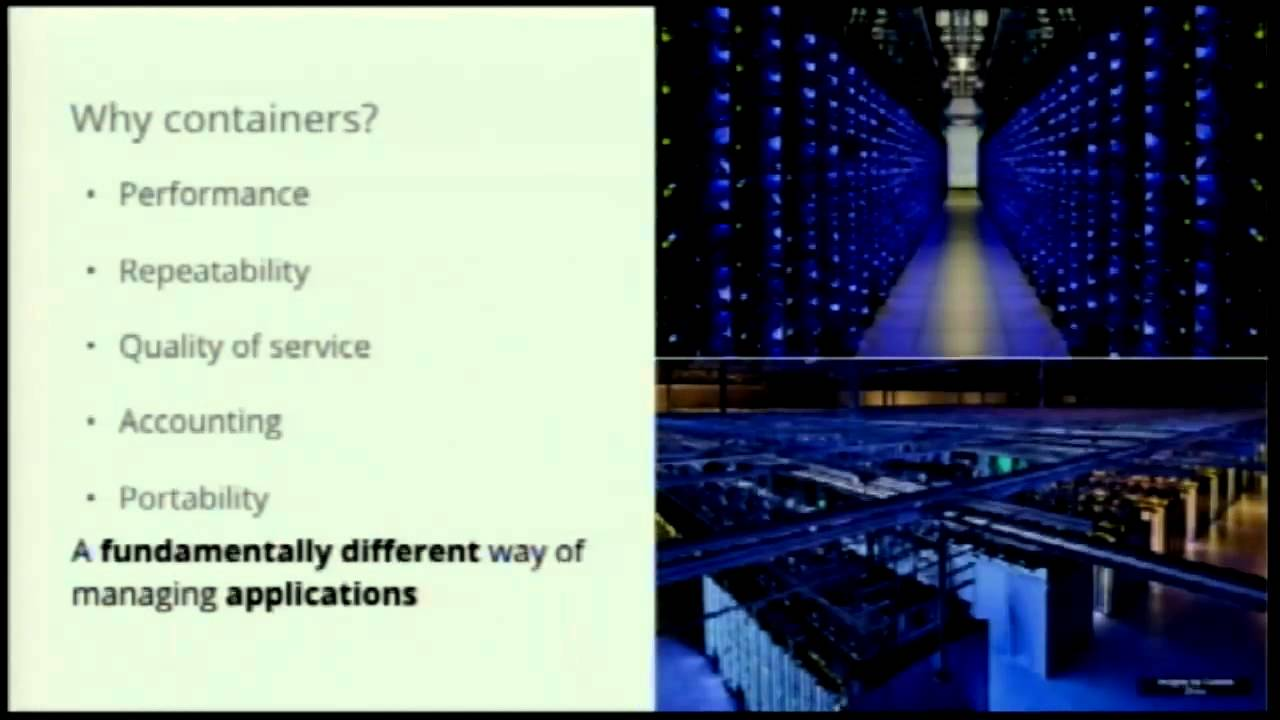Image from Keynote: So, I have all these Docker containers, now what?