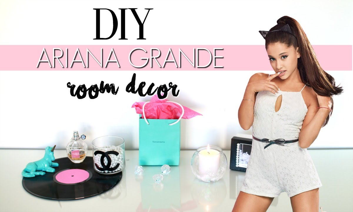 DIY Ariana Grande Room Decor! Simple & Affordable