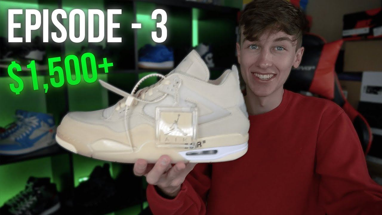 Life of a Sneaker Reseller - Episode 3 | BUYING $2300 Worth of PRICELESS Shoes!
