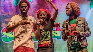 Here Comes Trouble - Chronixx ft. Jah9, Jesse Royal & ZincFence Redemption - Rototom Sunsplash 2014