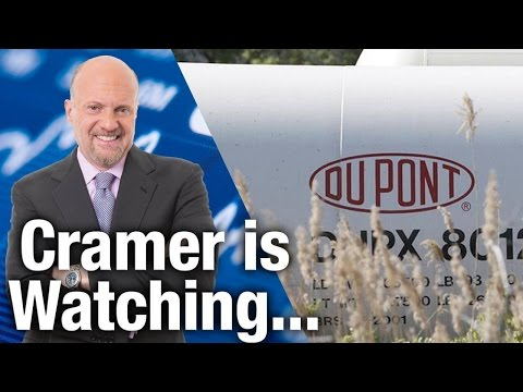 Cramer Will Watch DuPont Report Earnings on Tuesday, July 28th