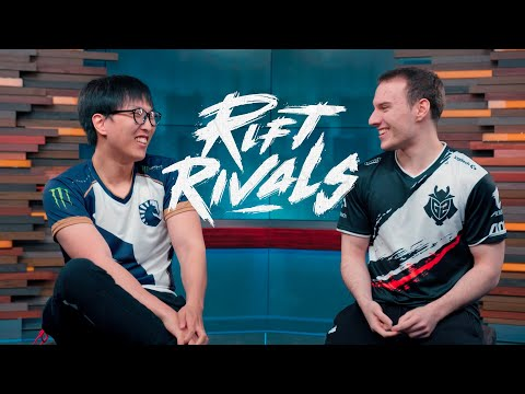 Doublelift and Perkz On Watching Each Other in Pro View   Rift Rivals 2019