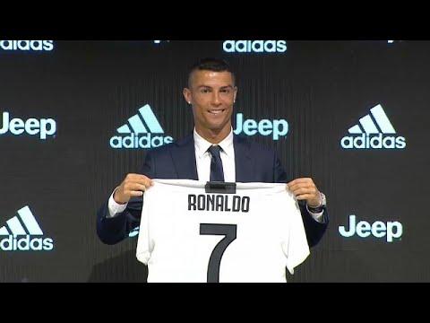 Ronaldo já foi apresentado como jogador da Juventus