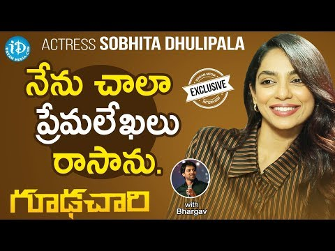 Goodachari Movie Actress Sobhita Exclusive Interview || Talking Movies With iDream thumbnail