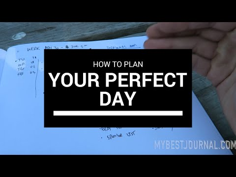 How to Plan Your Most Productive Day Ever