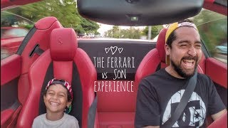 FERRARI SURPRISE FOR MY SON!!!
