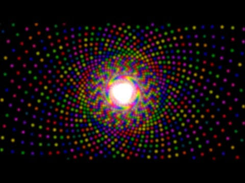 Sleeping Fibonacci - ( Sacred Geometry Visuals HD With Fractals (  Psychedelic Trance ) )