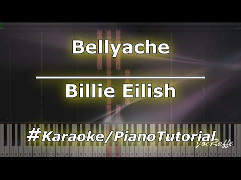 Billie Eilish - Bellyache (Karaoke/PianoTutorial/Instrumental)