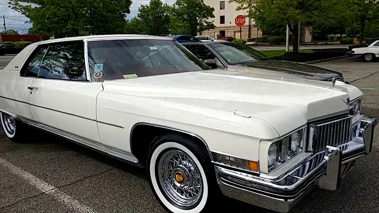 1973 CADILLAC COUPE DeVILLE - YouTube
