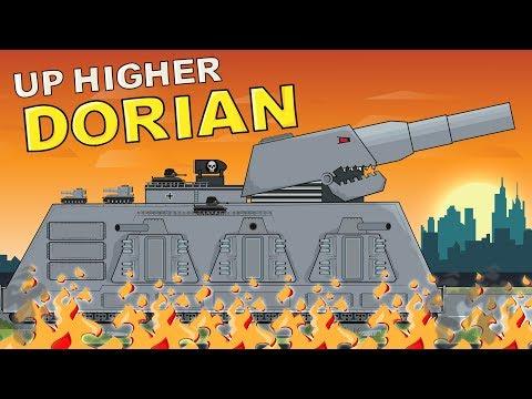 Videoclip Mega Tank DORIAN  - Cartoons About Tanks