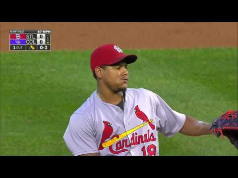 September 19, 2016-St  Louis Cardinals vs. Colorado Rockies