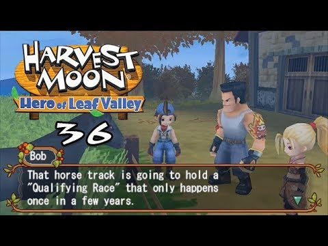 Let's Play Harvest Moon: Hero Of Leaf Valley 36: Race Preparations