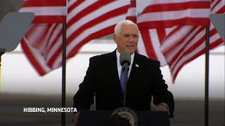 Pence stumps for Trump in Minnesota's Iron Range