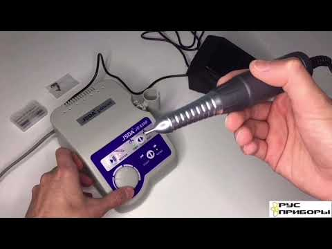 Распаковка и обзор: Аппарат для профессионального маникюра и педикюра JSDA JD 8500
