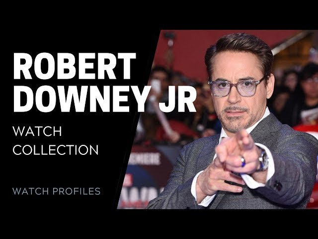 Robert Downey Jr's Watch Collection   SwissWatchExpo [Watch Collection]