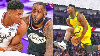 NBA - WILDEST ALL-STAR MOMENTS (Zion, LeBron, Giannis)