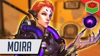 MOIRA GAMEPLAY | Overwatch (NEW HERO!)