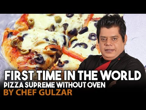 Pizza Supreme Without Oven