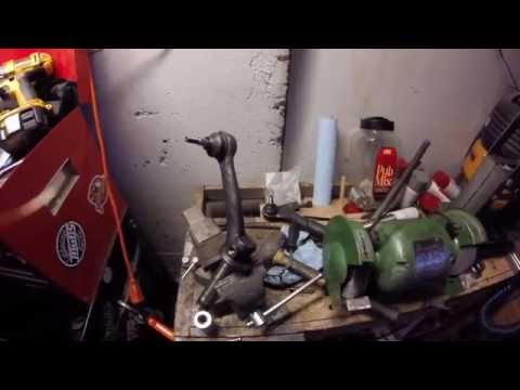 1969 VW Bug Project - Episode 18 - Ball Joints from Hell (The Wrong Way to Remove Them, Obviously)