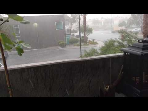 Hail storm Las Vegas NV 6-30-16