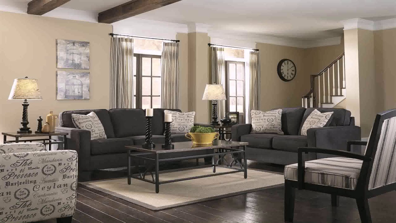 Living Room Paint Color Ideas With Black Furniture Gif Maker Daddygif Com See Description Youtube