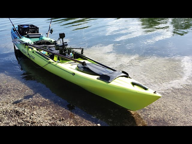 How Fast is the Ocean Kayak Trident 13? Watch THIS!
