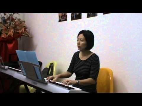 PRIMO MUSIC - Adult Pop Piano Lessons Singapore, Somewhere (Student Performance)