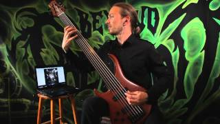 Beyond Creation-Elusive Reverence (bass playthrough)
