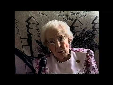 OLC - 104 year old Hazel Rooney  5-29-02