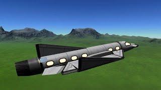 KSP - Fin Rudder Hybrid Aileron Testplane thumbnail