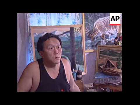 RUSSIA: SIBERIA: UDEGE TRIBE ON THE EDGE OF EXTINCTION