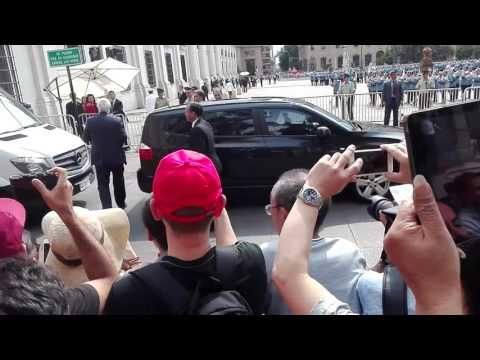 Visita a Chile   Presidente China