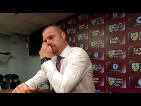Sean Dyche post Burnley 1-0 Leeds United